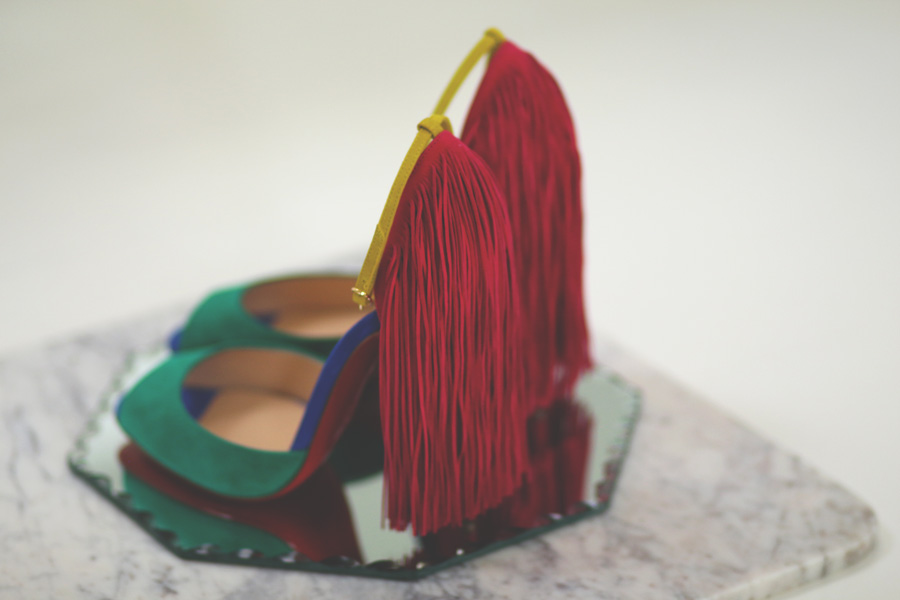 Louboutin, cathrine nissen, rockpaperdresses