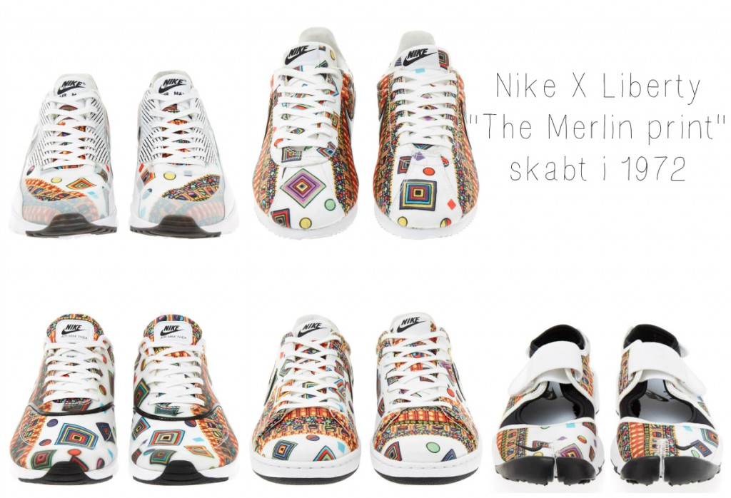Nike X Liberty collection SS15, Liberty sneakers