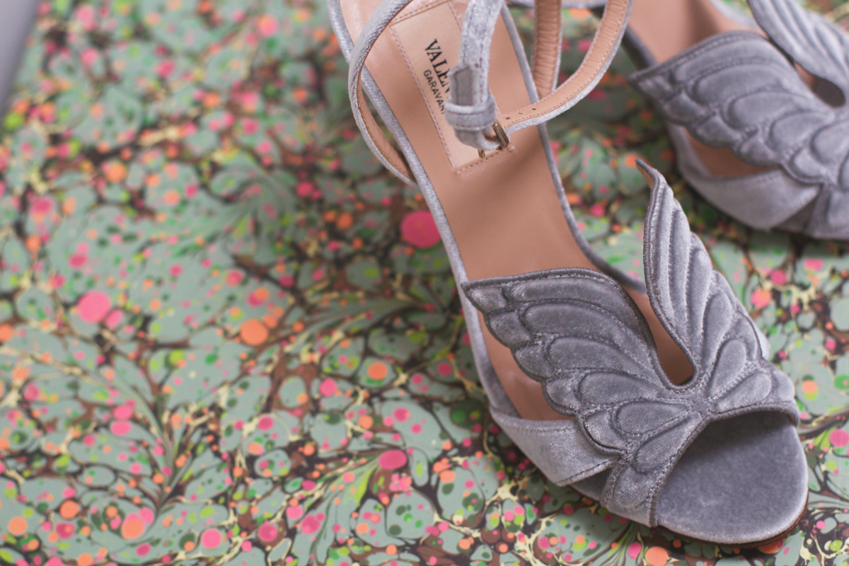 Bridal shoes, Angelcouture, Valentino, rockpaperdresses, cathrine nissen
