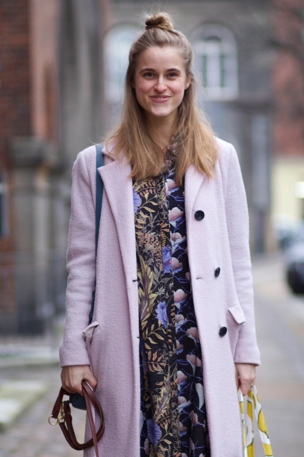 rockpaperdresses, cathrine nissen, Frida, Won hundred pink coat, nike huarache