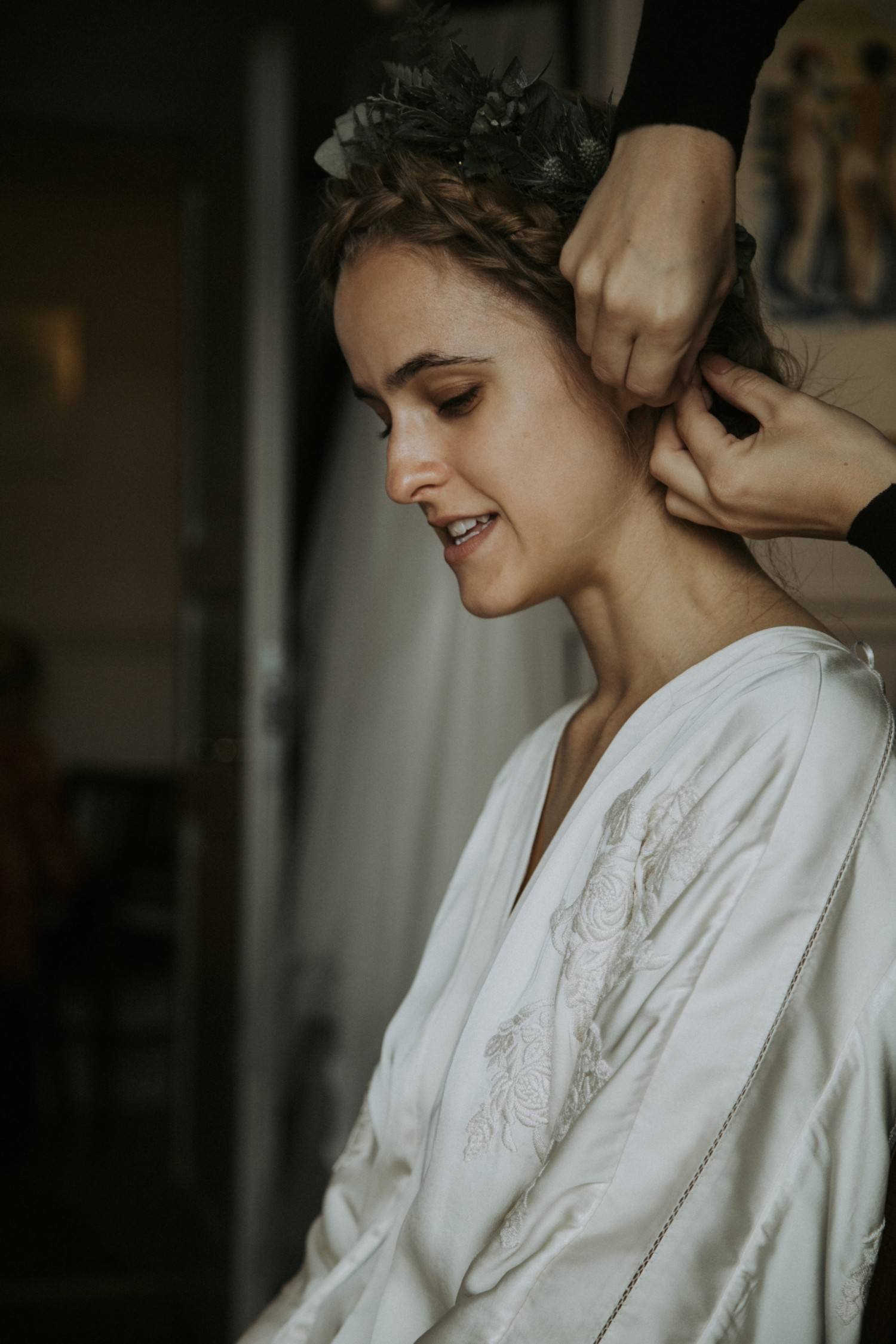 Cathrine Widunok Wichmand, Rockpaperdresses, getting ready for wedding, bryllup kimono, H&M Conscious Exclusive