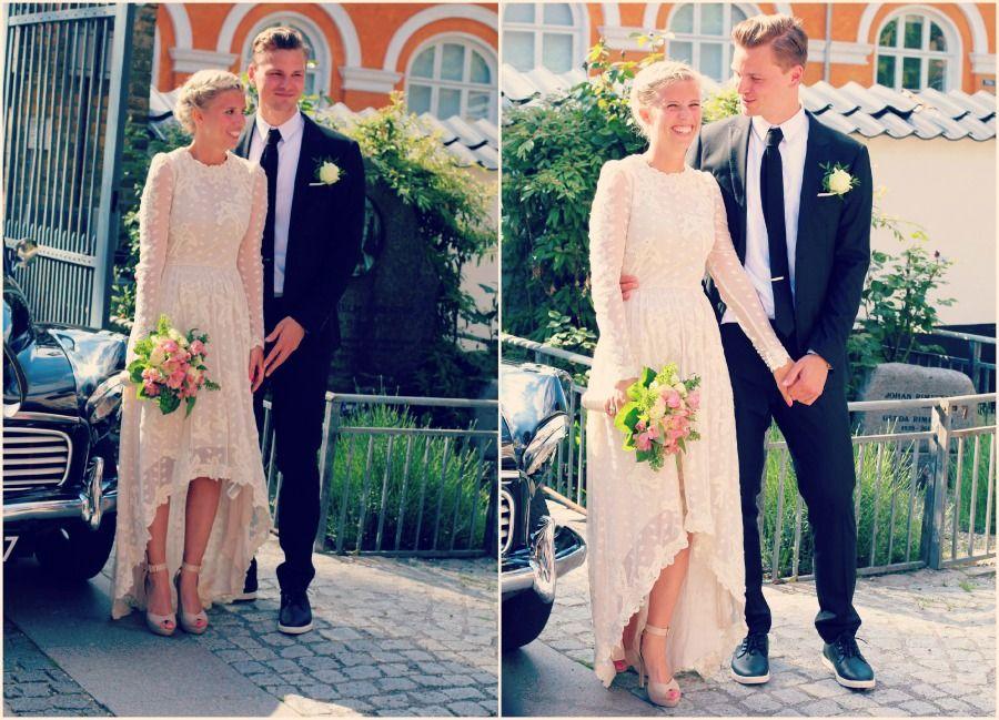 And the bride wore H&M!