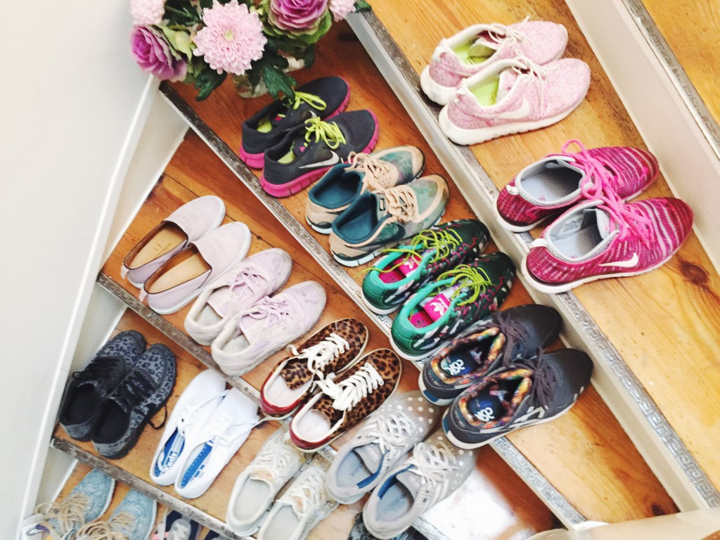 Sneakers, rockpaperdresses, cathrine nissen, mary katrantzou for adidas, liberty for Nike