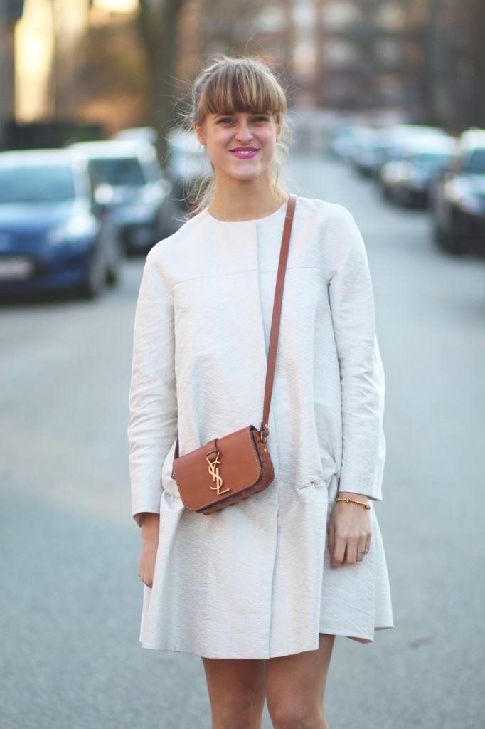 rockpaperdresses, cathrine nissen, nordic blogger, COS, YSL Université bag
