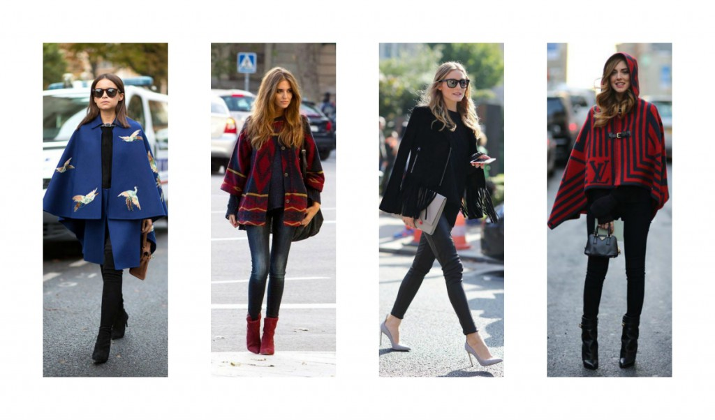 Olivia Palermo, Burberry poncho, kapper, cathrine nissen, rockpaperdresses, årets trend 2015 AW15