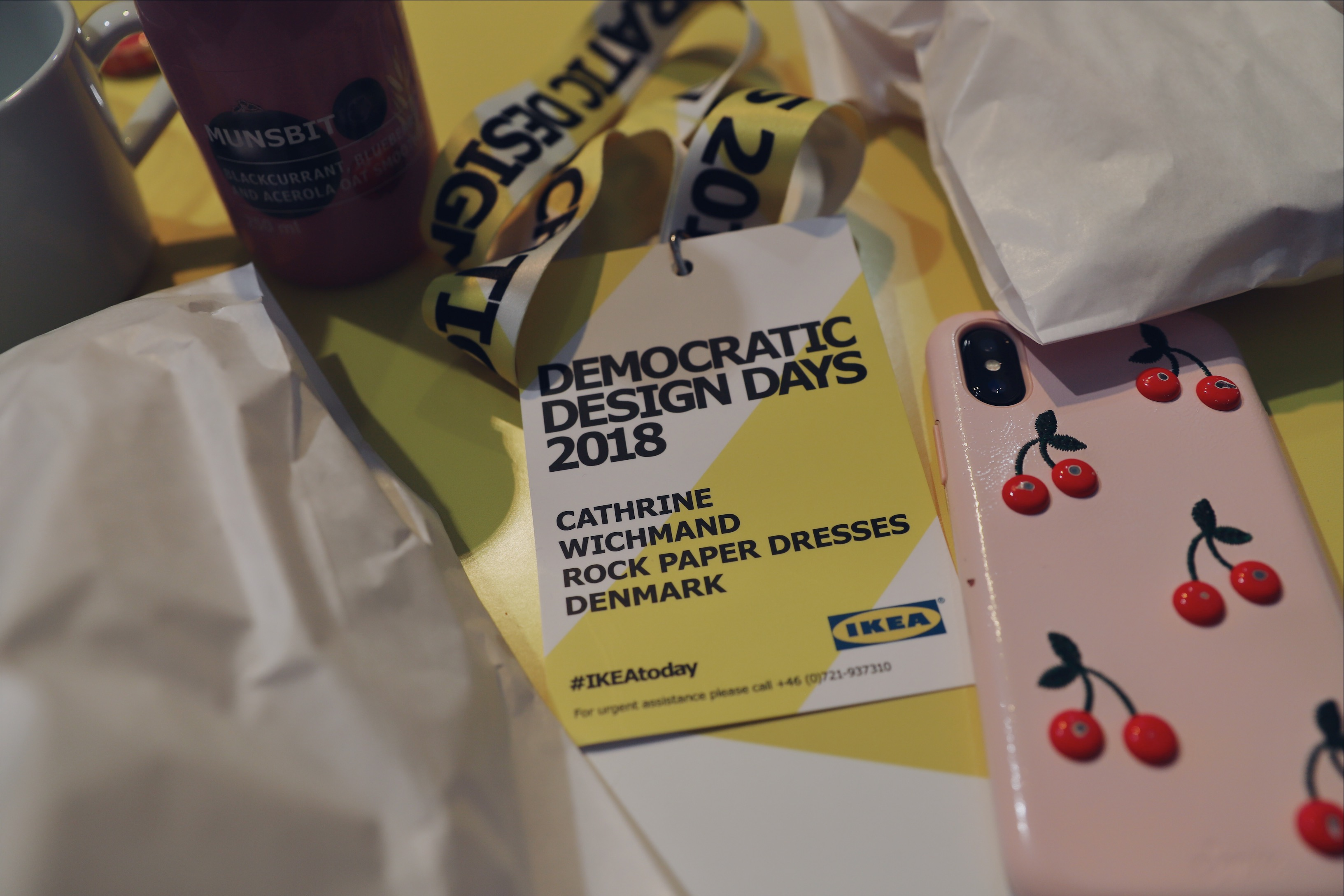 ROCKPAPERDRESSES, Cathrine Widunok Wichmand, IKEA DEMOCRATIC DESIGN DAYS 2018