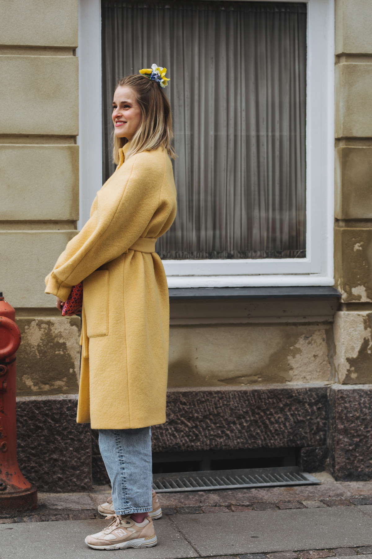 Rockpaperdresses, Cathrine Widunok Wichmand, Stine Goya yellow coat